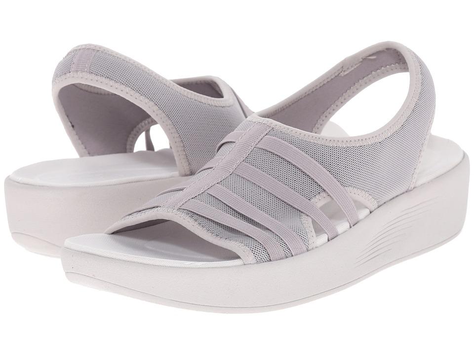 Easy Spirit Boatyard 2 Light Grey Fabric Womens Shoes