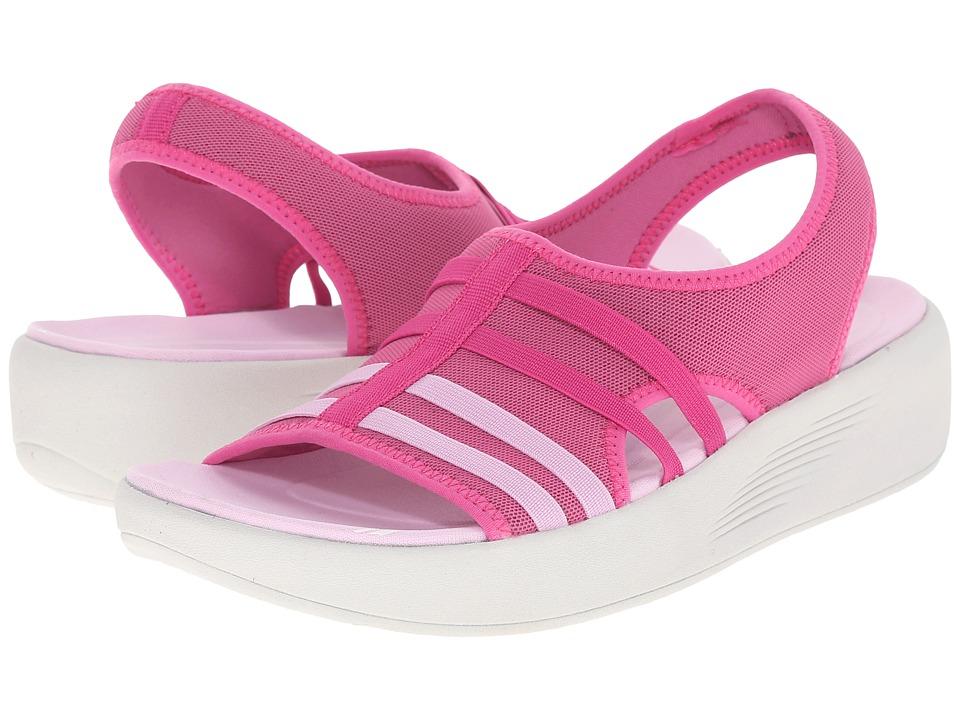 Easy Spirit Boatyard 2 Dark Pink Fabric Womens Shoes