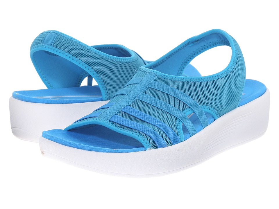 Easy Spirit Boatyard 2 Medium Blue Fabric Womens Shoes