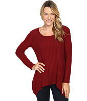 Nally & Millie - Ribbed Brushed Sweater Tunic