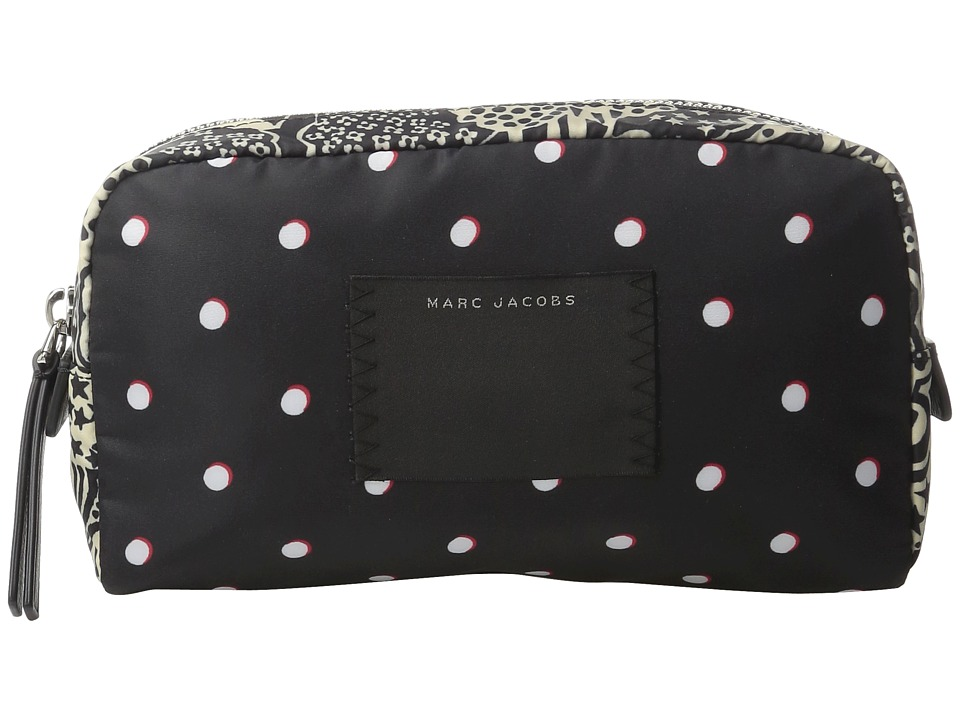 Marc Jacobs - B.Y.O.T. Cosmetics Large Cosmetic (Web Blue Multi) Cosmetic Case