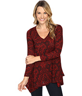 Nally & Millie - Red Aztec Tunic