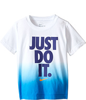 Nike Kids - Just Do It™ Dip Dye Short Sleeve Tee (Toddler)