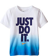 Nike Kids - Just Do It™ Dip Dye Short Sleeve Tee (Little Kids)