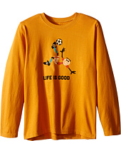 Life is good Kids - Jake Soccer Long Sleeve Tee (Little Kids/Big Kids)