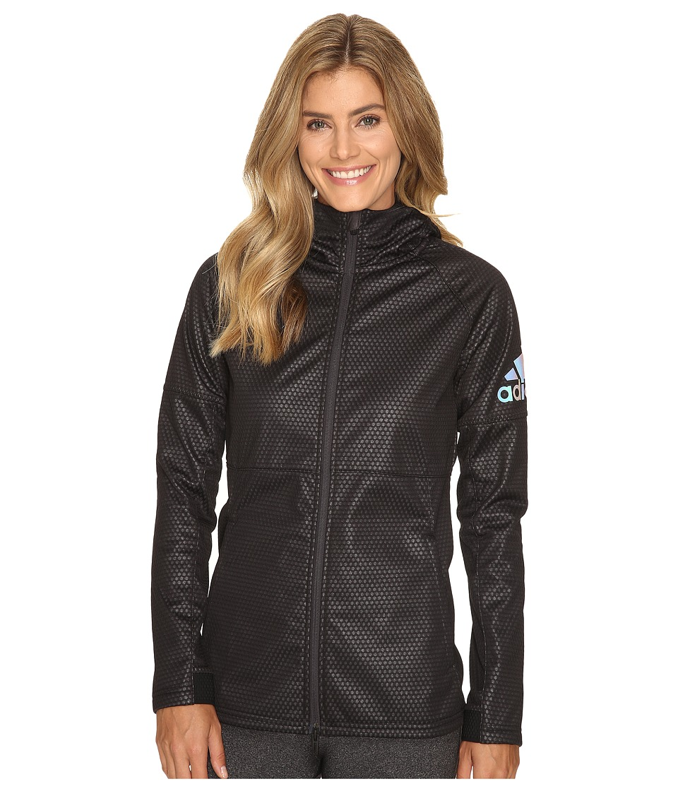 adidas CLIMASTORM Fleece Jacket (Black/Utility Black) Women