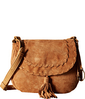 CARLOS by Carlos Santana - Frances Suede Saddle Bag