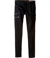 Blank NYC Kids - Utility Skinny Jeans in Black Beauty (Big Kids)