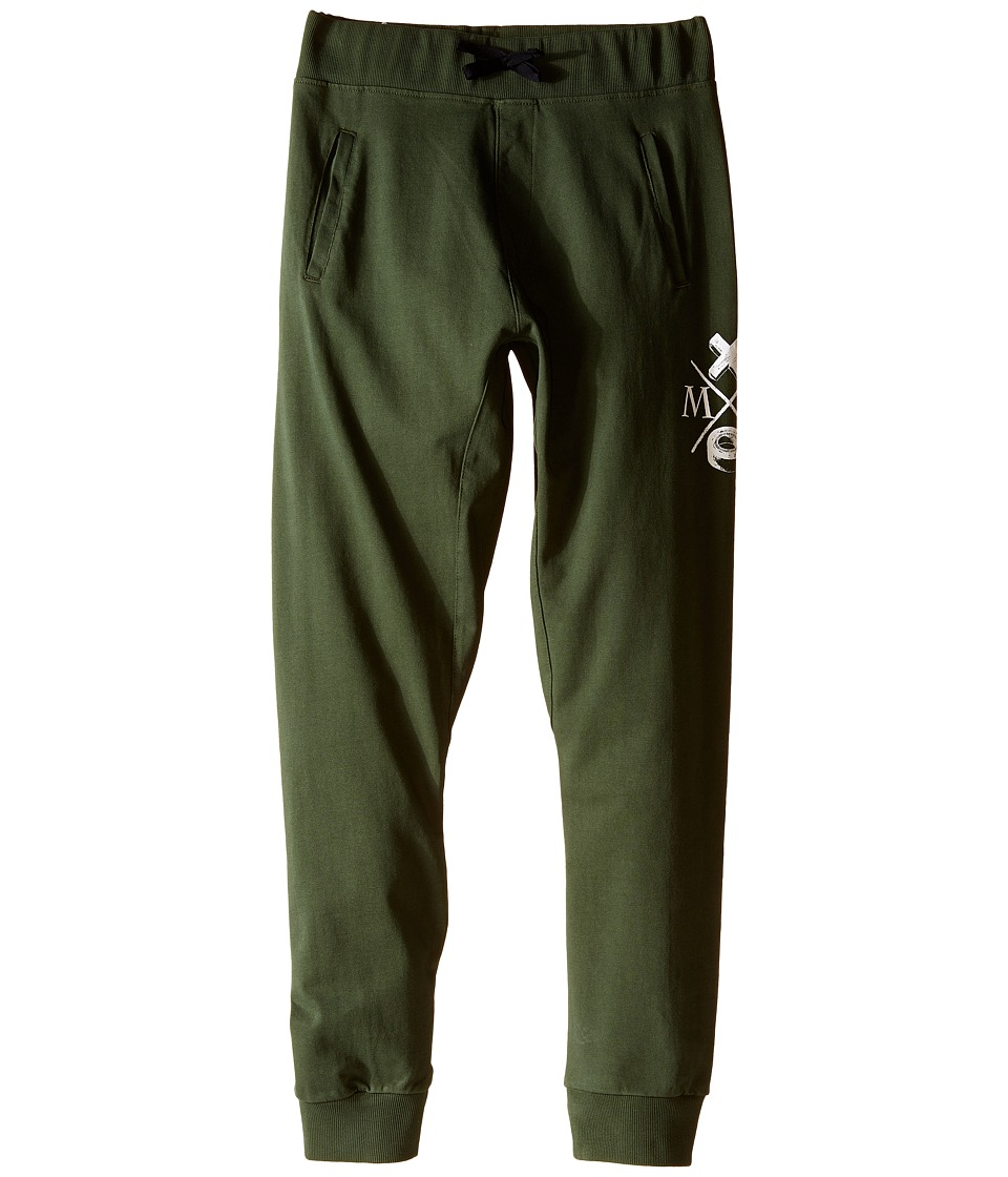 Munster Kids Dum Dum Track Pants Big Kids Olive Boys Casual Pants
