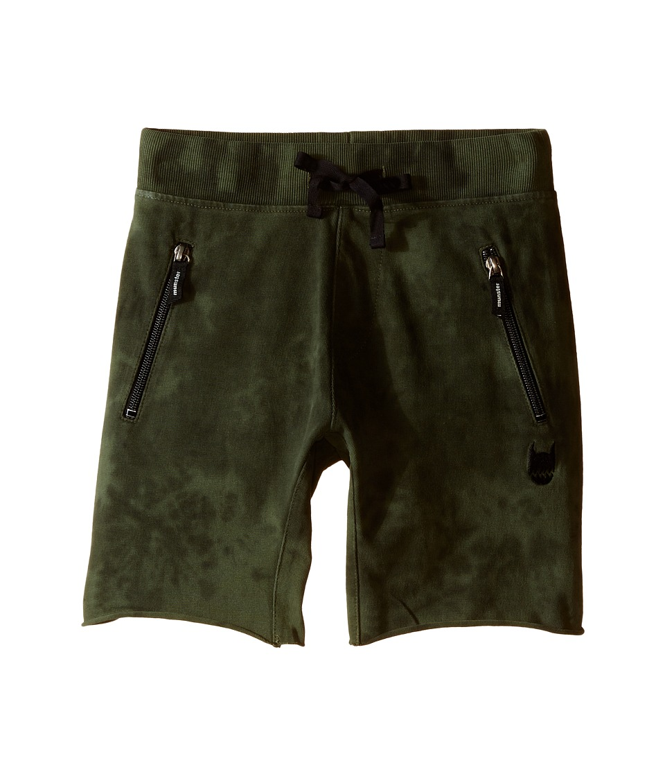 Munster Kids Duffer Walkshorts Toddler/Little Kids/Big Kids Olive Boys Shorts