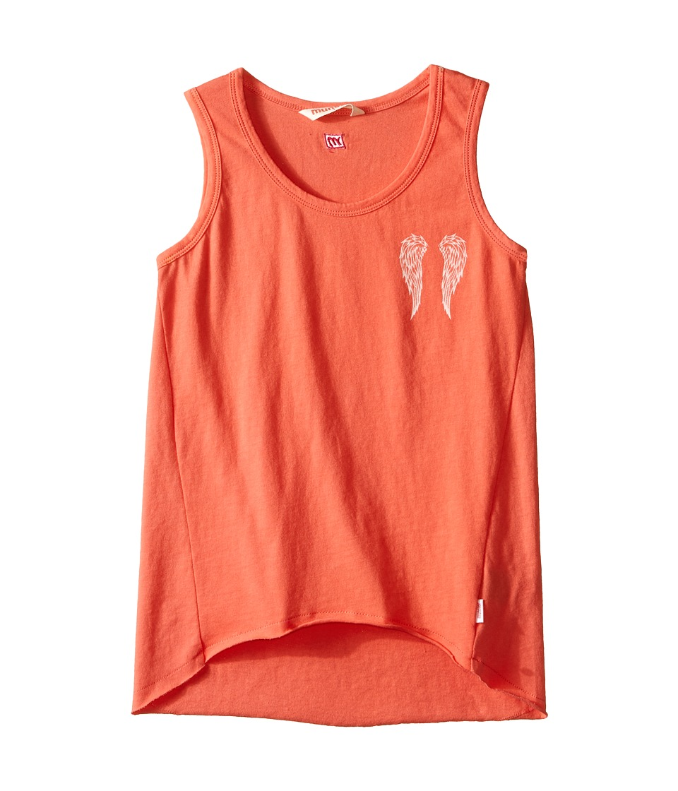 Munster Kids Angel Tank Top Toddler/Little Kids/Big Kids Coral Girls Sleeveless