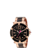 Betsey Johnson - BJ00459-08 - Rose Gold & Black