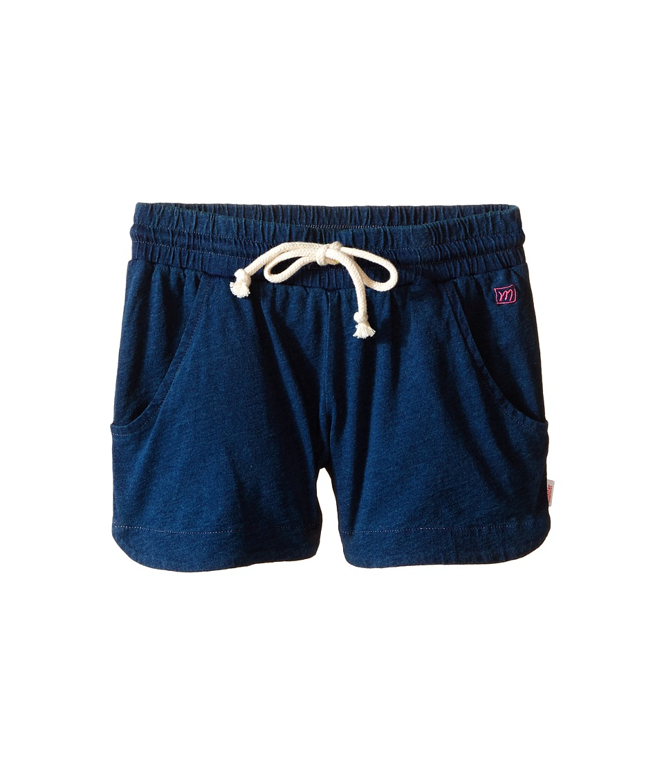 Munster Kids Double Scoop Walkshorts Toddler/Little Kids/Big Kids Indigo Girls Shorts