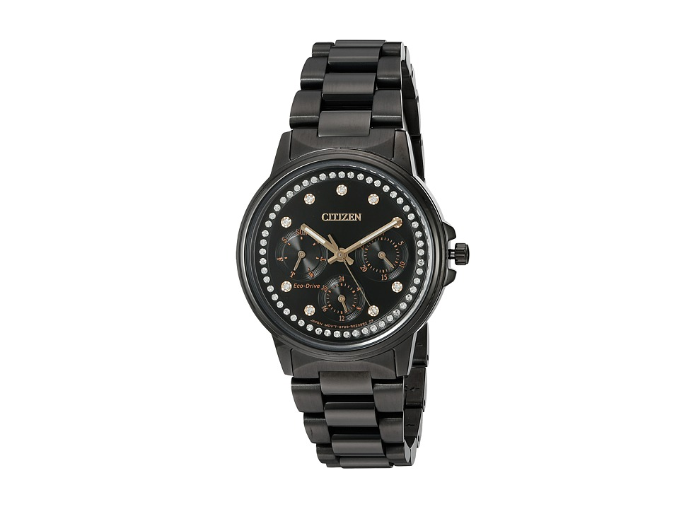 Citizen Watches - FD2047-58E Silhouette Crystal (Black) Watches