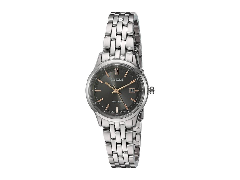 Citizen Watches - EW2400-58H Bracelet (Silver) Watches