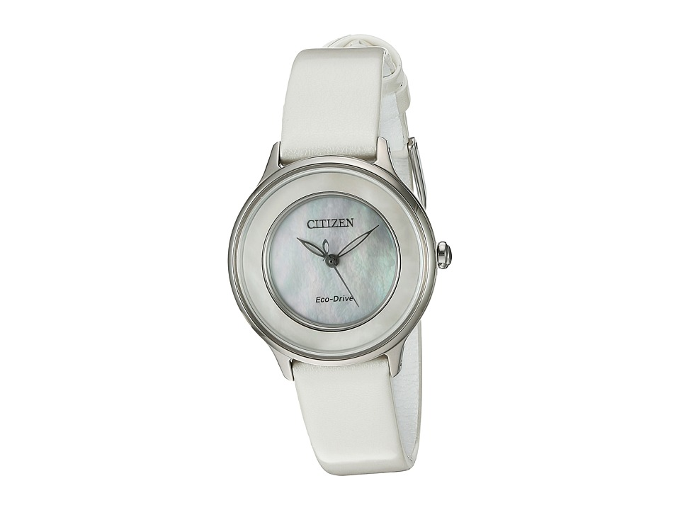Citizen Watches - EM0381-03D Circle of Time (White) Watches