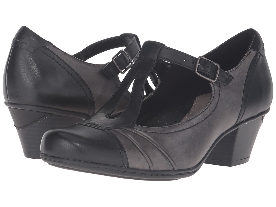 Earth Wanderlust (Black Full Grain Leather) Women's Shoes