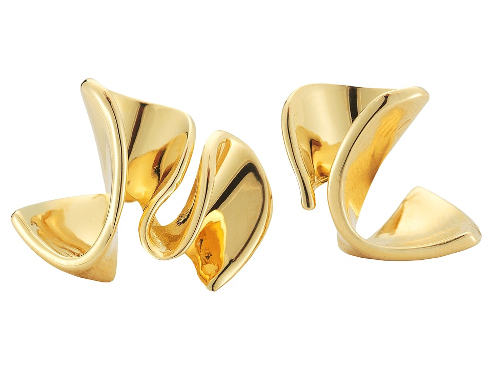 Elizabeth and James Arp Earrings Yellow Gold Earring