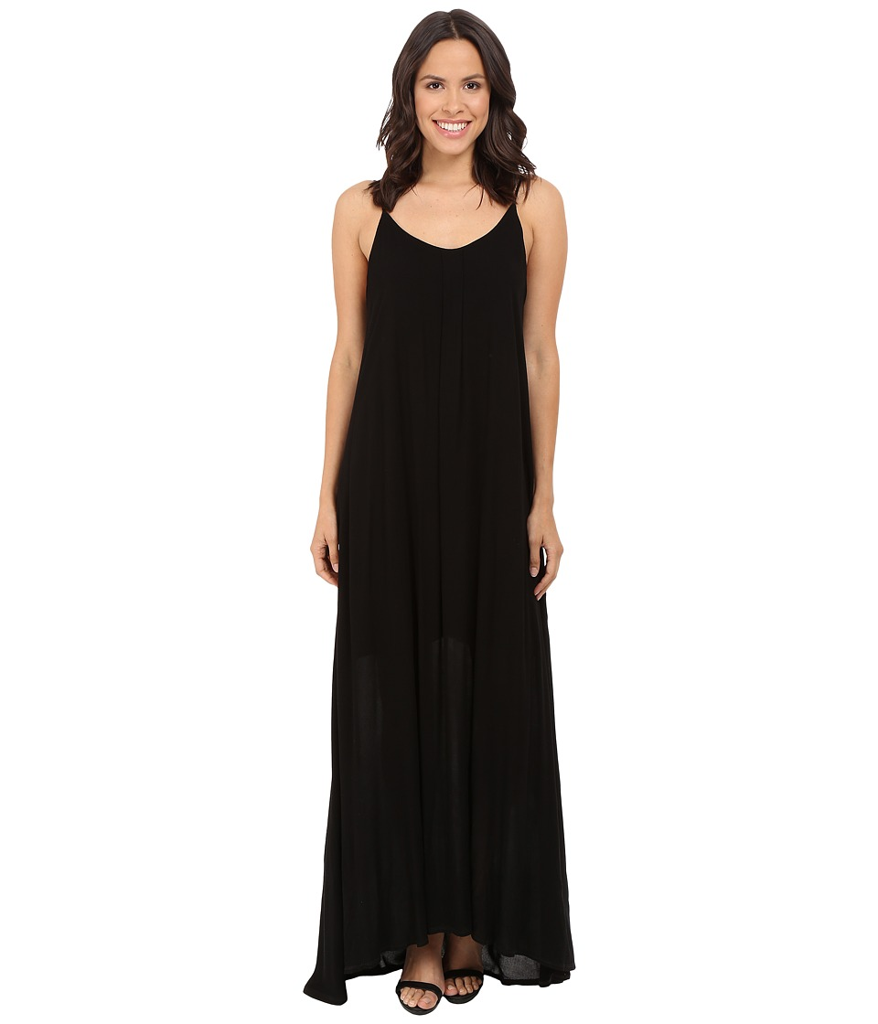 Lanston Ankle Length Cami Dress Black Womens Dress