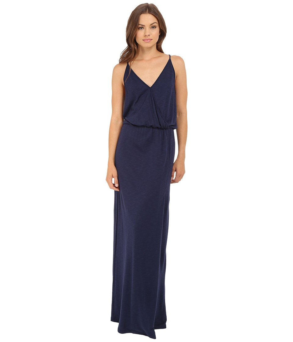 Lanston Back Bar Slit Maxi Dress Mystic Womens Dress
