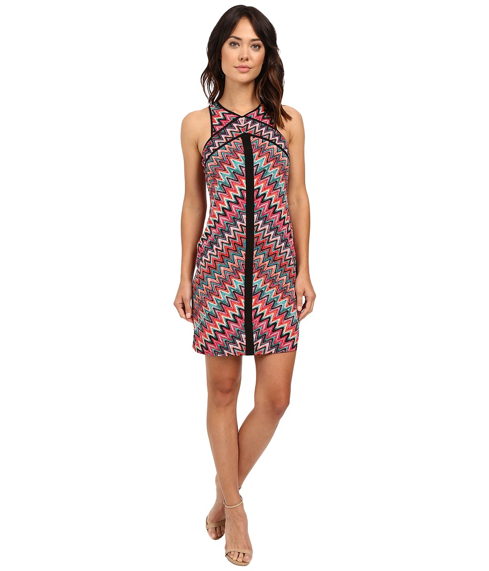 Laundry by Shelli Segal Miss Only Me Matte Jersey Printed Dress Nautilus Womens Dress