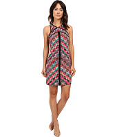 "Laundry by Shelli Segal - ""Miss Only Me"" Matte Jersey Printed Dress"
