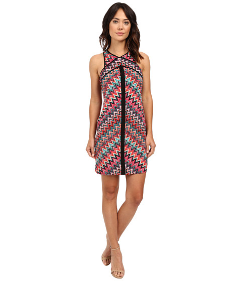 """Laundry by Shelli Segal """"Miss Only Me"""" Matte Jersey Printed Dress"""