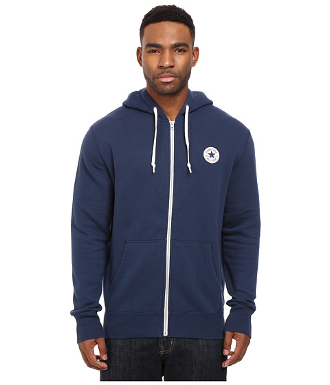 Converse Core Full Zip Hoodie - Nighttime Navy