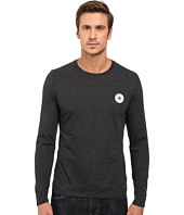 Converse - Core Left Chest Core Patch Long Sleeve Crew Tee