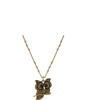 Marc Jacobs - Charms Owl Pendant Necklace