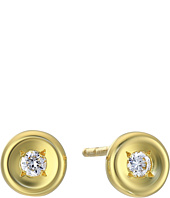 Roberto Coin - Tiny Treasures 18K Earrings with Diamonds