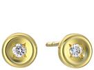 Roberto Coin Roberto Coin Tiny Treasures 18K Earrings with Diamonds
