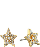 Marc Jacobs - MJ Coin Tiny Star Pave Studs Earrings
