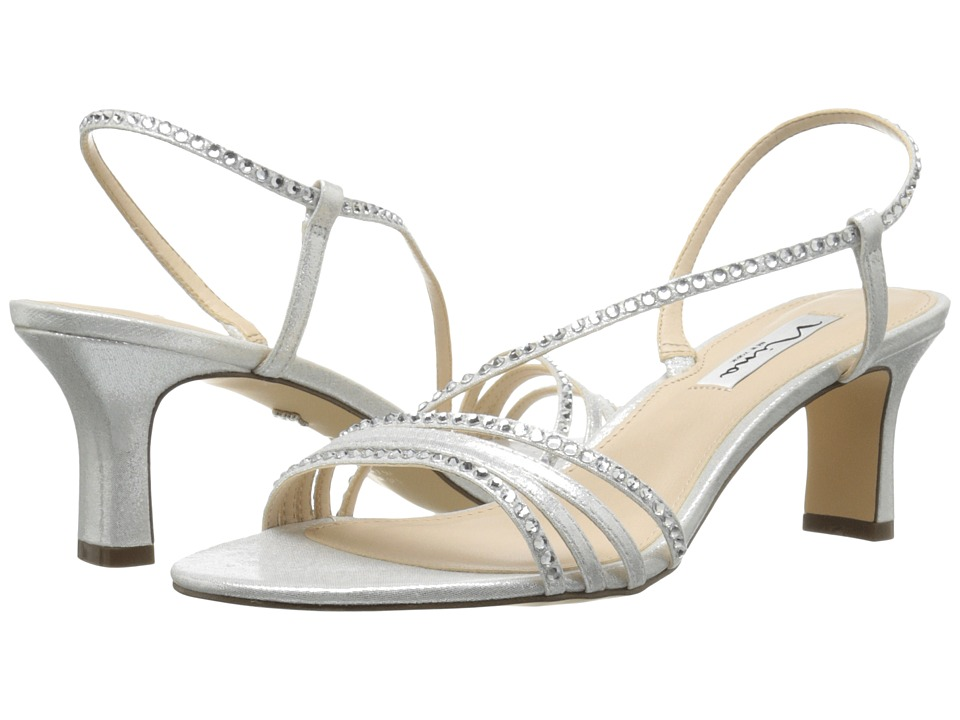 Nina Gerri (Silver) High Heels
