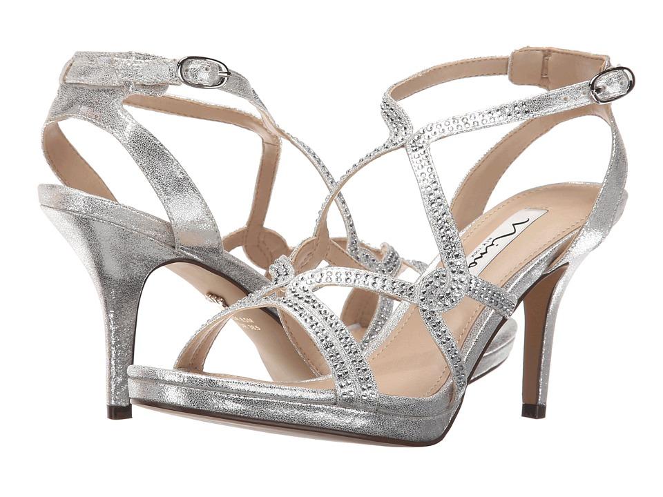 Nina Varsha (Silver) High Heels