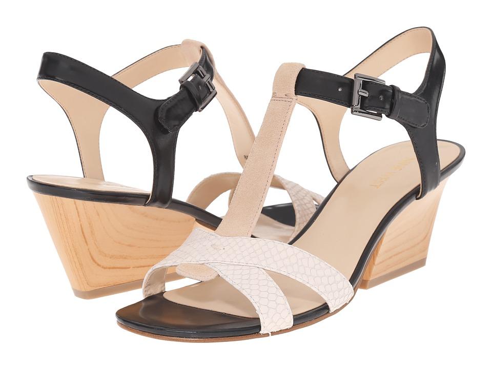 Nine West Geralda Off White Multi High Heels