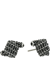 Marc Jacobs - Pave Twisted Studs Earrings