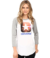 Converse - Box Star Photo Raglan Tee