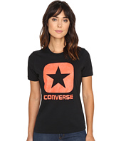 Converse - Reflective Fill Box Star Short Sleeve Tee
