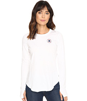 Converse - Left Chest Core Patch Logo Long Sleeve Tee