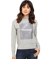 Converse - Rubber Mock Neck Fleece Top