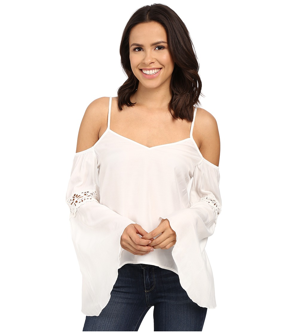 Union of Angels Addie Top White Womens Clothing