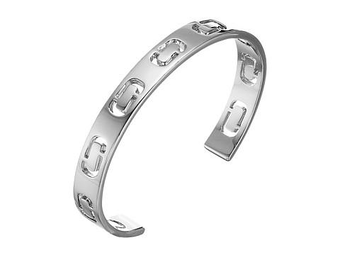 Marc Jacobs Icon Cuff Bracelet - Silver