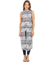 Brigitte Bailey - Paisley Printed Sleeveless Maxi Dress