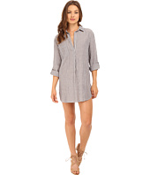 Brigitte Bailey - Josette Shirtdress with Roll Up Sleeve