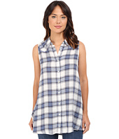 Brigitte Bailey - Helene Plaid Sleeveless Top