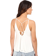Culture Phit - Anja Layered Sheer Jersey Tank Top