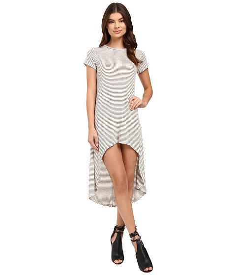 Culture Phit Fia Striped High-Low Dress