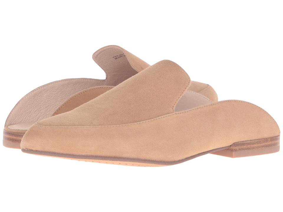 Kristin Cavallari - Capri Mule (Camel Kid Suede) Womens Slip on  Shoes
