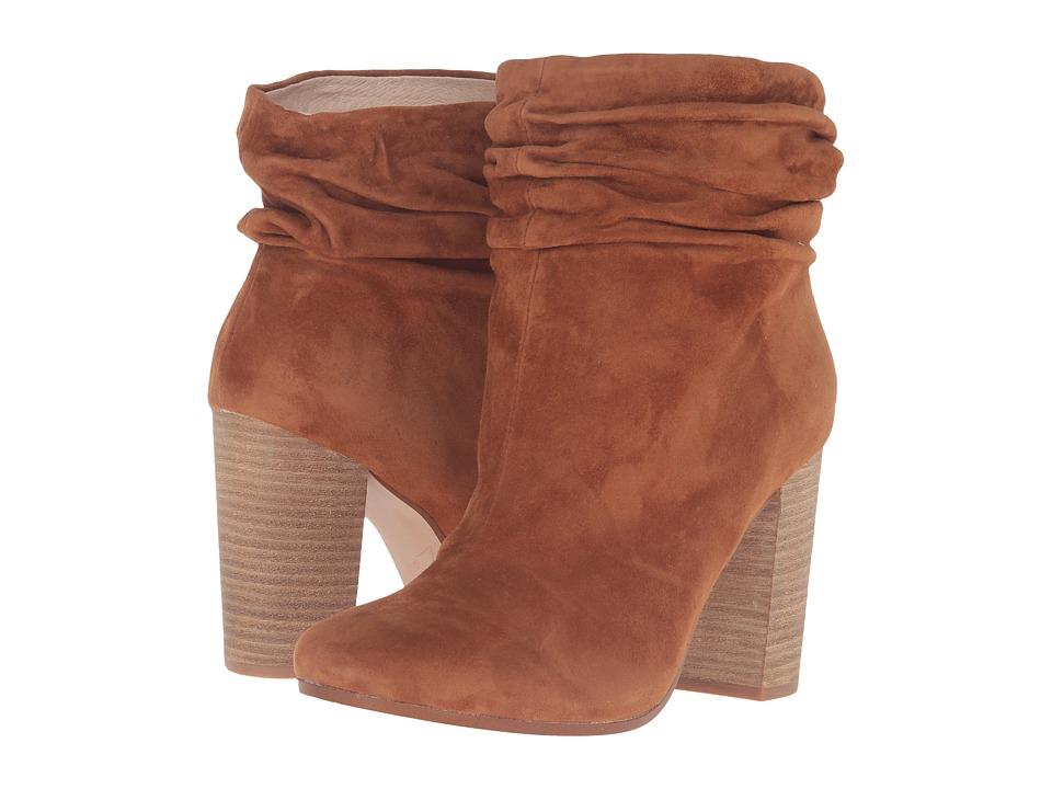 Kristin Cavallari - Georgie Slouch Boot (Caramel Kid Suede) Womens Boots